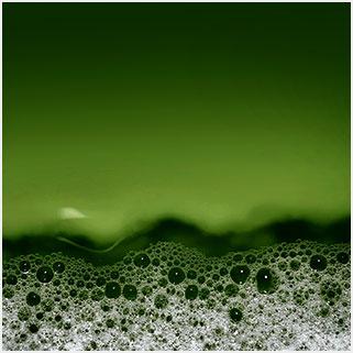 dark-green-fluid